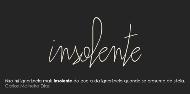 insolente