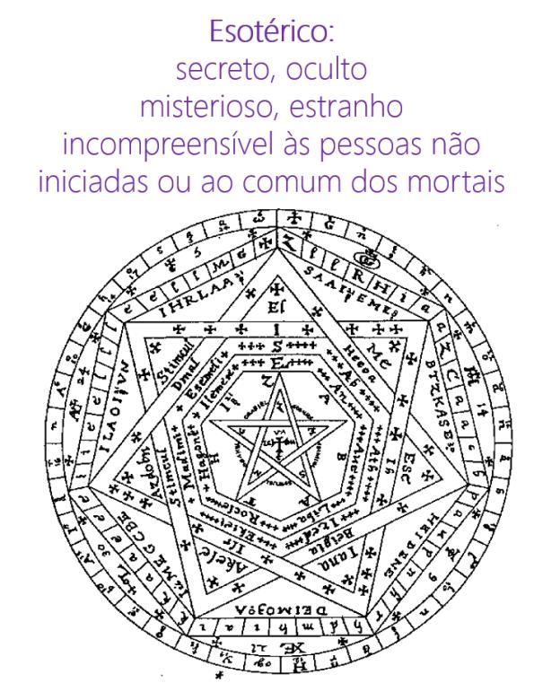 esotérico